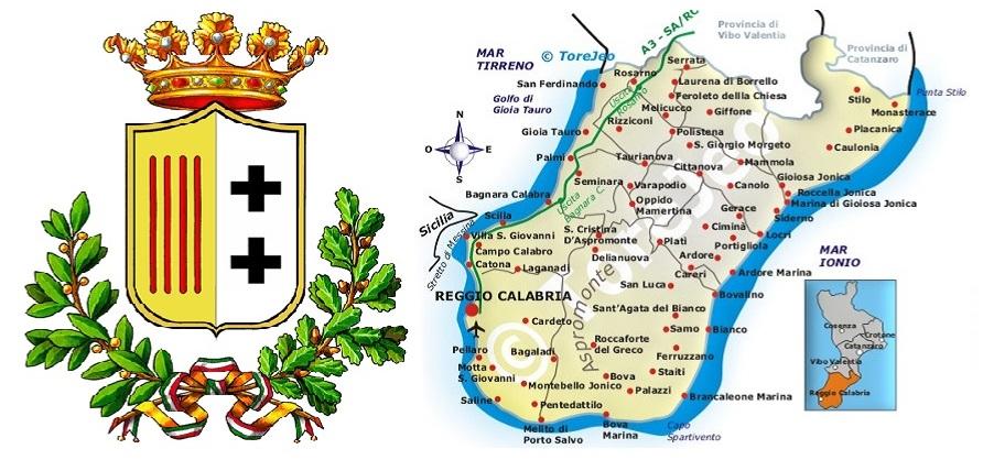 Point of interest in the province of Reggio di Calabria