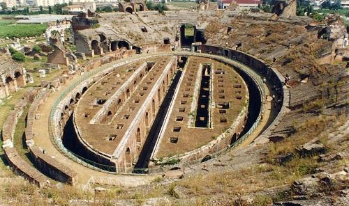 Anfiteatro Romana a Caserta in Campania