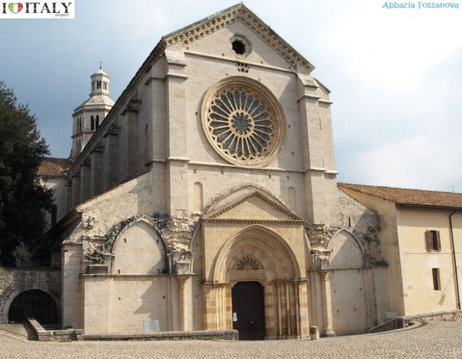 This Cistercian Abbey Is One Of The Finest Examples Burgundian Early Gothic Style In Italy Dated From Around 1135