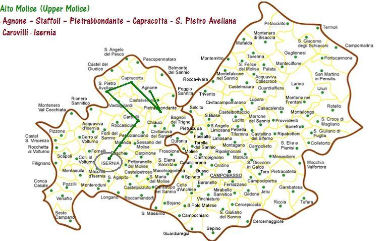In Molise from Isernia to agnone on san giovanni rotondo italy map, acireale italy map, frascati italy map, europe italy map, sezze italy map, palena italy map, isernia map, calabria italy map, marche italy map, licata italy map, amalfi italy map, figline valdarno italy map, alcamo italy map, montecorice italy map, abruzzo italy map, l'aquila italy map, spinete italy map, baranello italy map, cuneo italy map, rionero sannitico italy map,