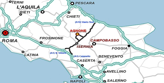 Agnone Italy  city photos : Agnone is in the center of important archeological vestiges of the old ...