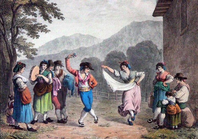 how to teach the tarantella dance