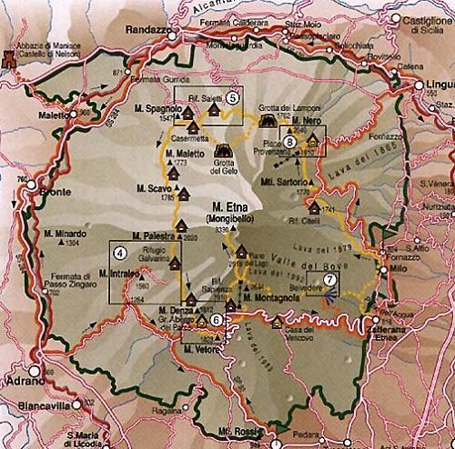 road map of sicily pdf