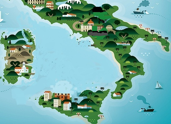 Map Of South Of Italy.Sports Aventures Sightseeing In South Italy Today